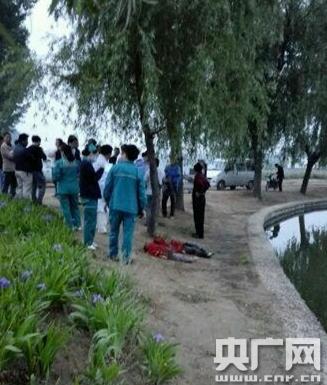 河南濮阳夫妻吵架置气 将一对儿女扔河里溺亡
