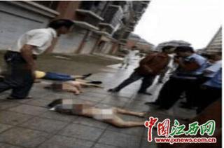 江西:男子将两名女儿扔下楼摔死后跳楼身亡