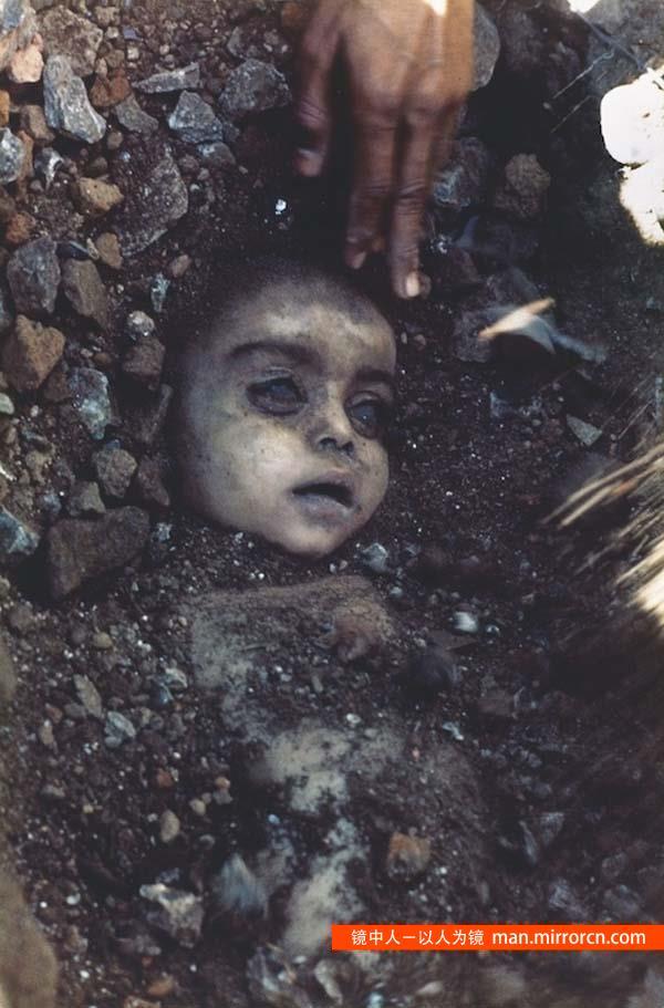 美国化工厂事故死去的儿童