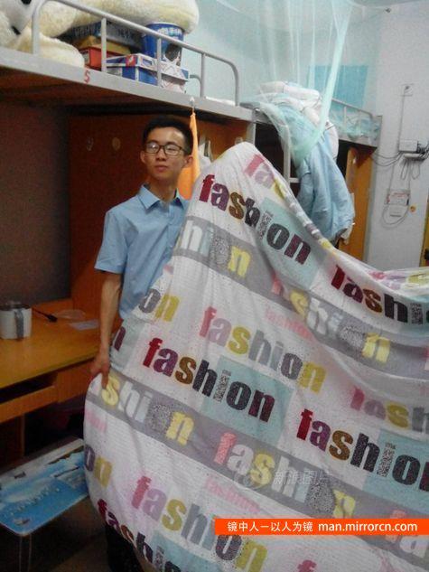 大学生卖棉被年收入200万 将为100人提供奖学金