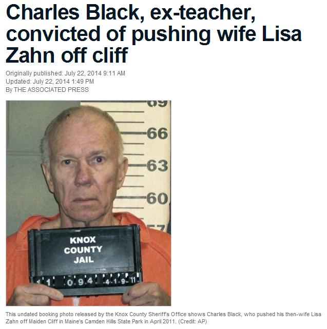 77岁男子为获得妻子财产将其推下悬崖