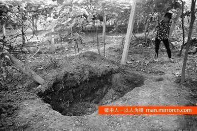 男子被父母及兄弟杀死后埋在自家地里