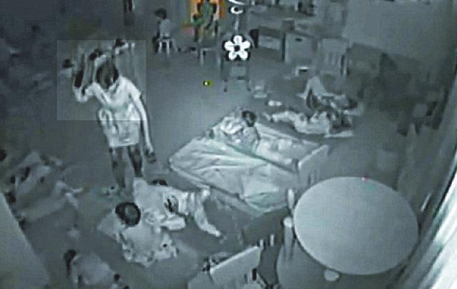 幼儿园儿童被拳打脚踢还喂酒