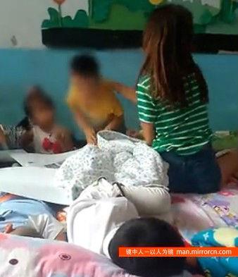 幼儿园男童不睡觉被老师侮辱殴打