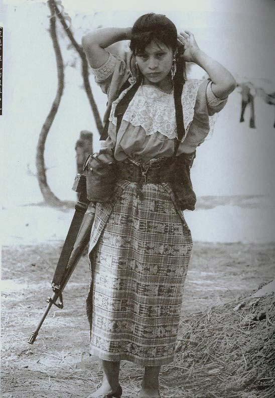 危地马拉的女战士