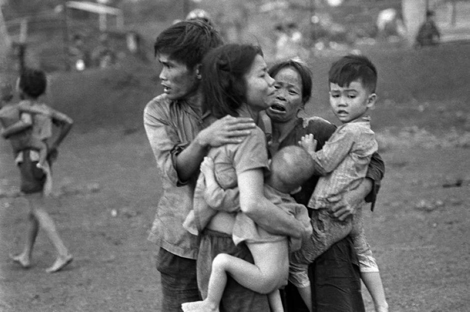 越战中的孩子
