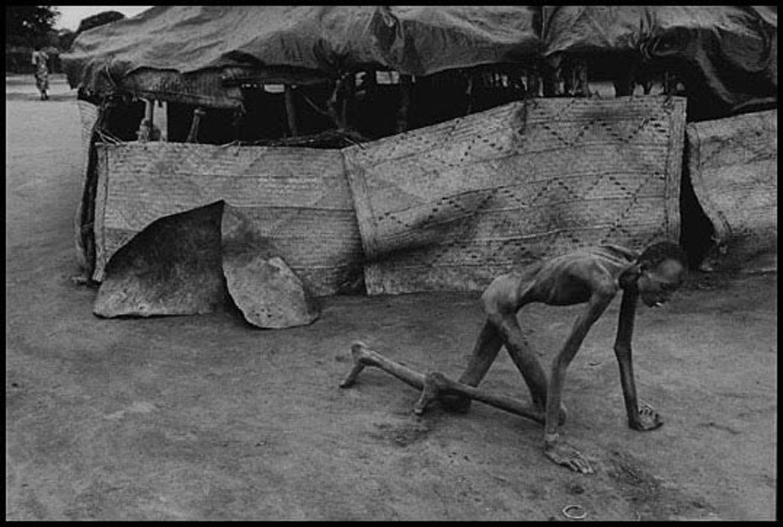 苏丹饥荒 黑镜头 贫穷