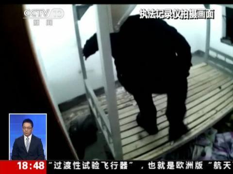 民警从21楼飞出 勇救坠楼男子