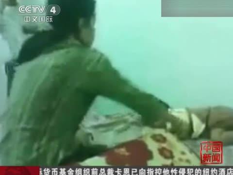 10个月大婴儿被妈妈疯狂虐打视频曝光